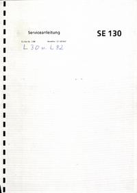 Service Manual ABBGoerz SE130