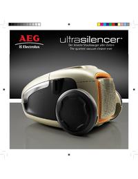 Instrukcja obsługi AEG ultrasilencer