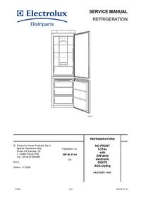 Manuale di servizio AEG S75400KG