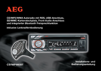 User Manual AEG CSFMP660BT