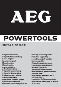 Руководство пользователя AEG SB 20-2 E