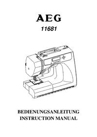 Bedienungsanleitung AEG 11681