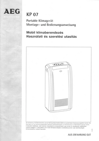 Manual del usuario AEG KP 07
