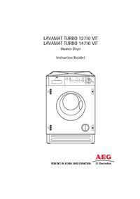 Manuale d'uso AEG LAVAMAT TURBO 12710 VIT