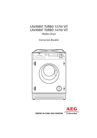 Manuel de l'utilisateur AEG LAVAMAT TURBO 12710 VIT