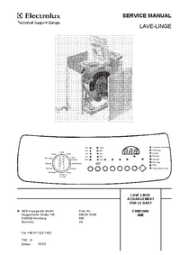 Service Manual AEG EWM 2000