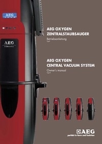 User Manual AEG OXYGEN