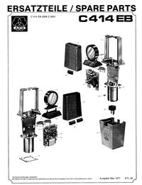 Manual de serviço AKG C414EB