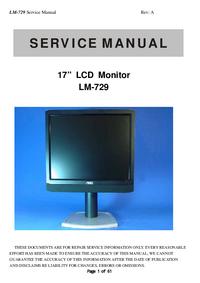Serviceanleitung AOC LM-729
