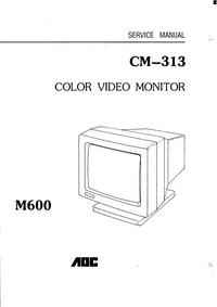 Serviceanleitung AOC CM—313