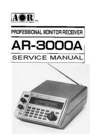 Service Manual AOR AR-3000A