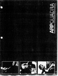 Manual del usuario ARP Quadra