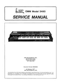Service Manual ARP Omni 2480