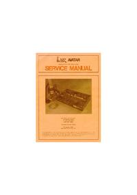 Manual de serviço ARP Avartar 2223