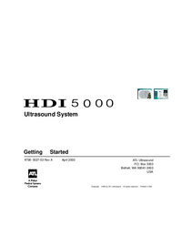 User Manual ATL HDI 5000