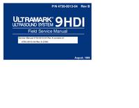 Руководство по техническому обслуживанию ATL Ultramark 9HDI