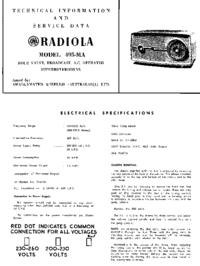 manuel de réparation AWA 495-MA