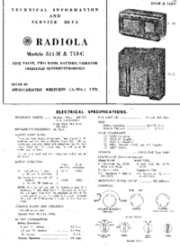 manuel de réparation AWA Radiola 713-C