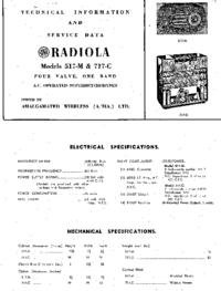 Manual de serviço AWA RADIOLA 717-C