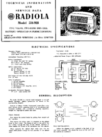 Manual de serviço AWA RADIOLA 534-MB