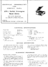 Serwis i User Manual AWA 551-GA