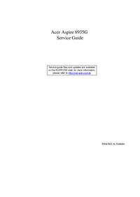 Manual de serviço Acer Aspire 8935G