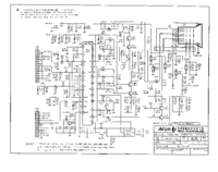 Service Manual, cirquit diagram only Acer Acerview 7134E