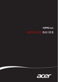 Service Manual Acer ASPIRE xxxx