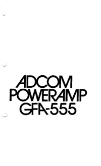 Adcom-9414-Manual-Page-1-Picture