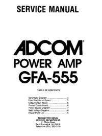 Adcom-9415-Manual-Page-1-Picture