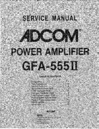 Adcom-9419-Manual-Page-1-Picture