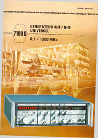 Технический паспорт Adret 7100 D