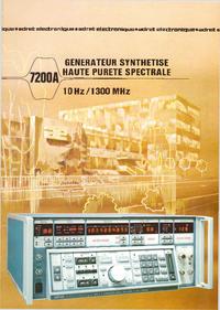 Технический паспорт Adret 7200 A