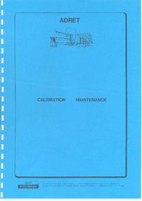 Manual de serviço Adret 3100B