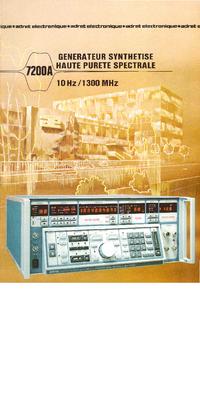 Manuale d'uso Adret 7200A