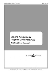 Advance-9411-Manual-Page-1-Picture