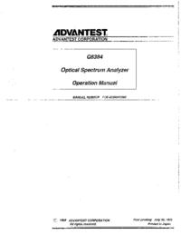 Advantest-11706-Manual-Page-1-Picture