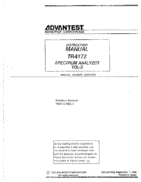 Advantest-7994-Manual-Page-1-Picture