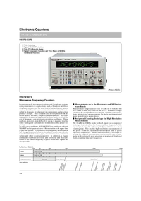Datasheet Advantest R5372
