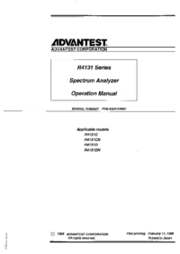 Advantest-9427-Manual-Page-1-Picture