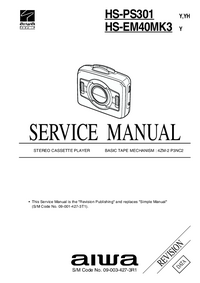 Manual de servicio Aiwa HS-PS301 Y
