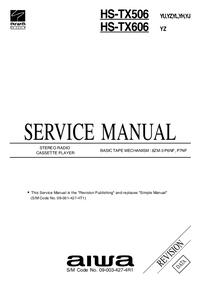 Manual de serviço Aiwa HS-TX506 YU