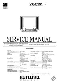 Servicehandboek Aiwa VX-C131 U