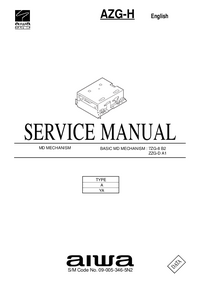 Manuale di servizio Aiwa AZG-H YA