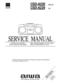 Aiwa-1422-Manual-Page-1-Picture