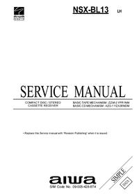 Manuale di servizio Aiwa NSX-BL13 LH