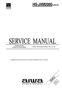 Service Manual Aiwa HS-JXM2000 YH