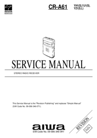 Service Manual Aiwa CR-A61 YZ1(S,L)