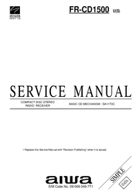 Service Manual Aiwa FR-CD1500 U(S)