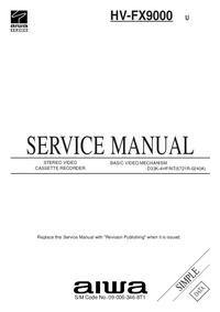 Manuale di servizio Aiwa HV-FX9000 U